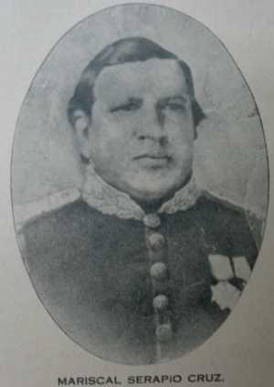 Mariscal Serapio Cruz (Tata Lapo).  Imagen tomada de Wikimedia Commons.