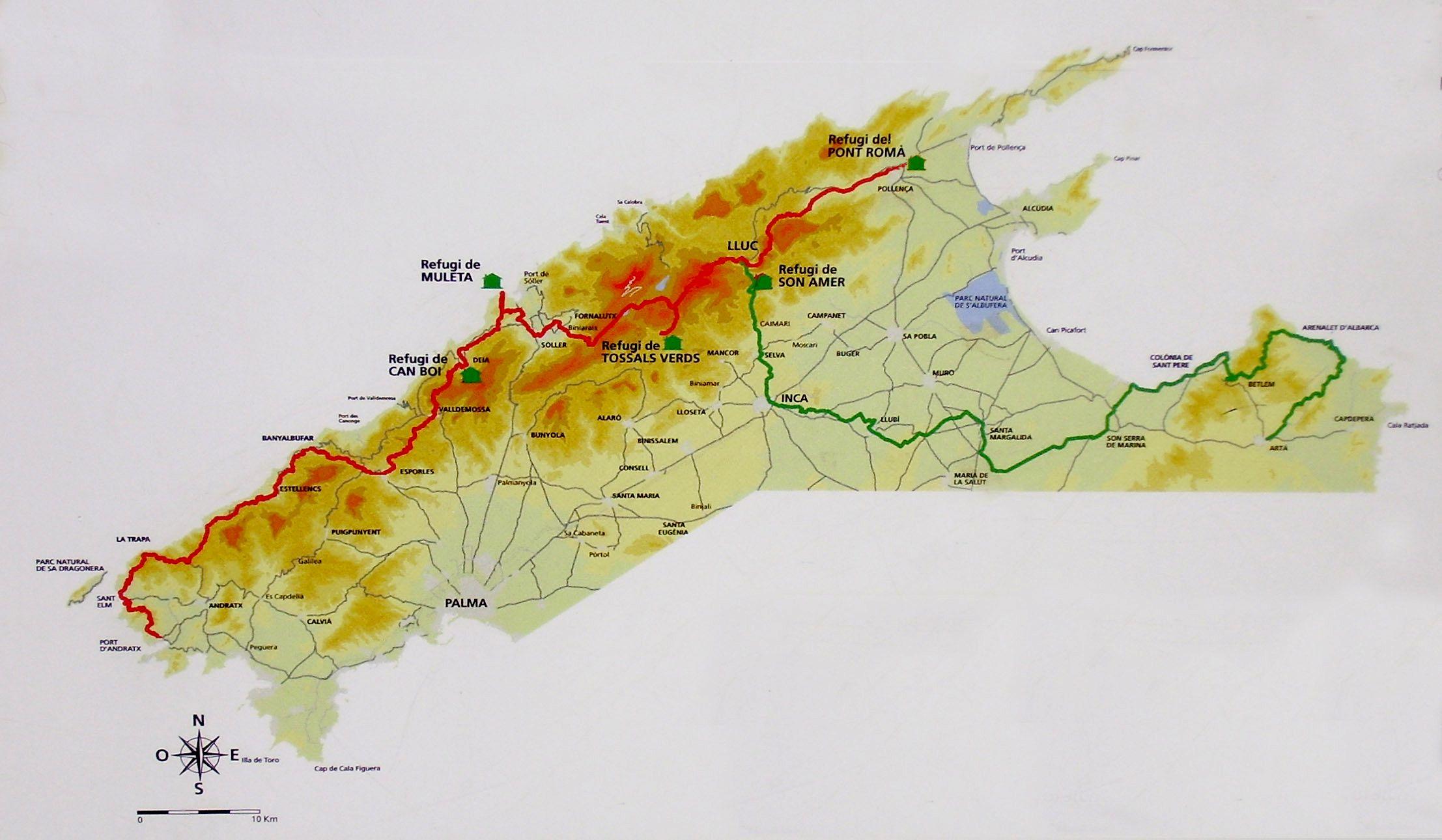 K 248 Reture Mallorca Road Trip Mallorca Forslag Bilture