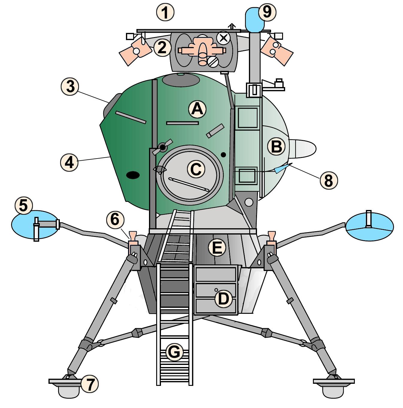 luna spacecraft drawings - photo #49