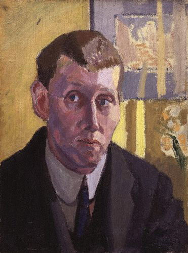Self Portrait By Spencer Frederick Gore