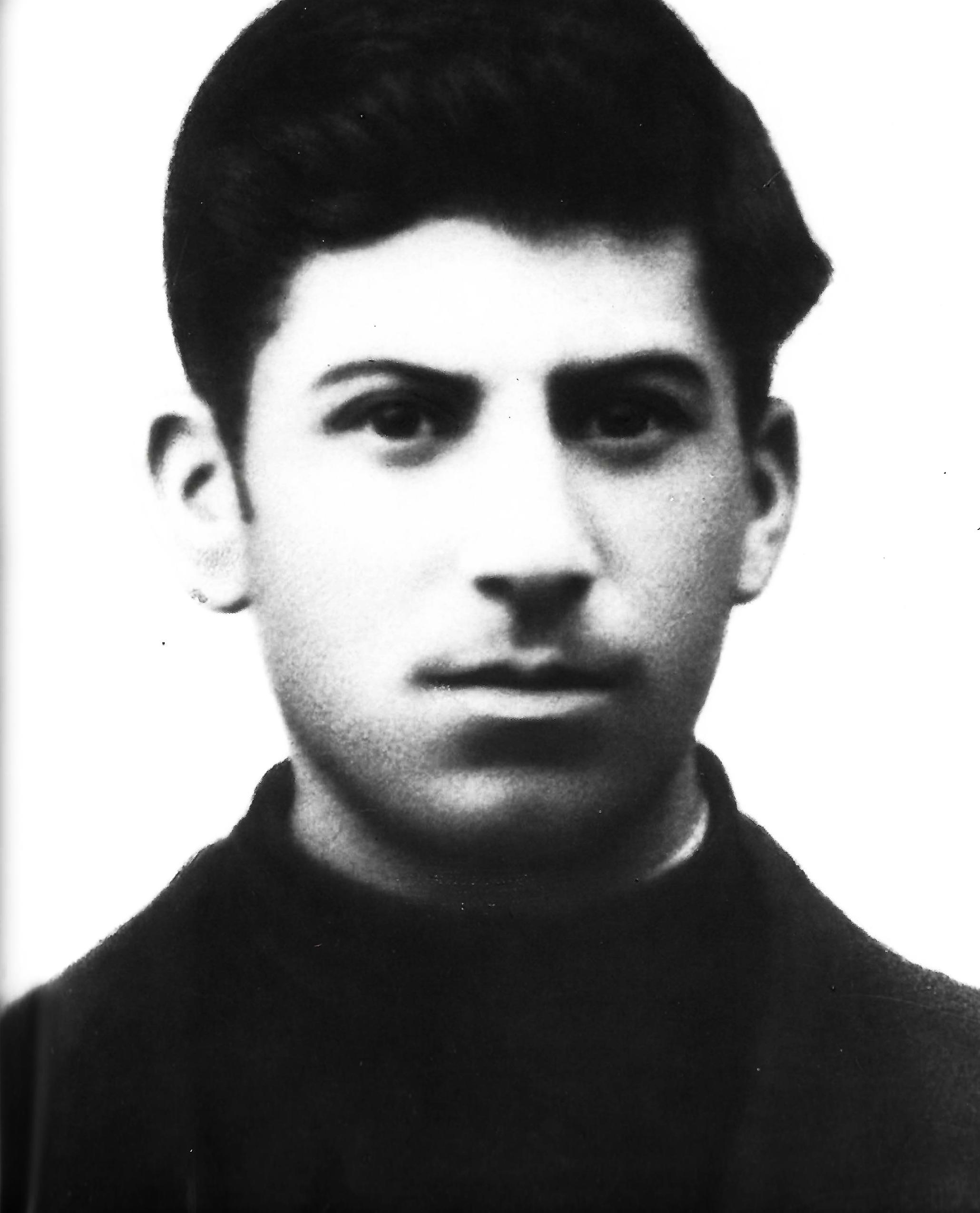 Stalin as a schoolboy.