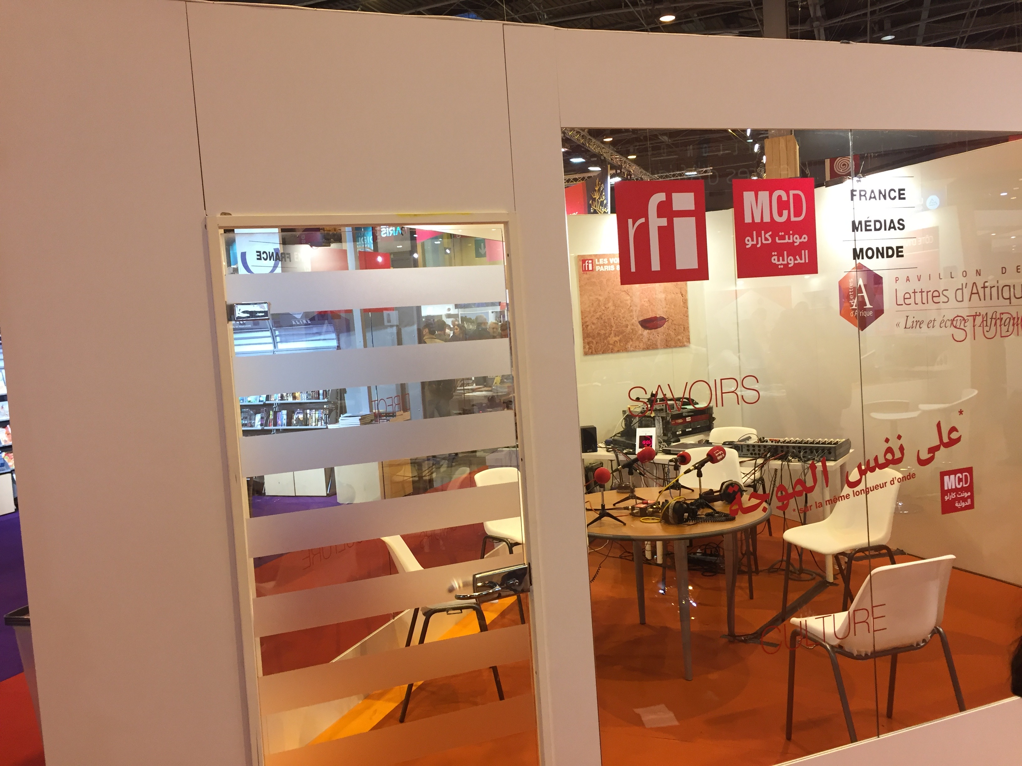 Filestand rfi au salon du livre de paris 2017 rfi for Salon de paris 2017