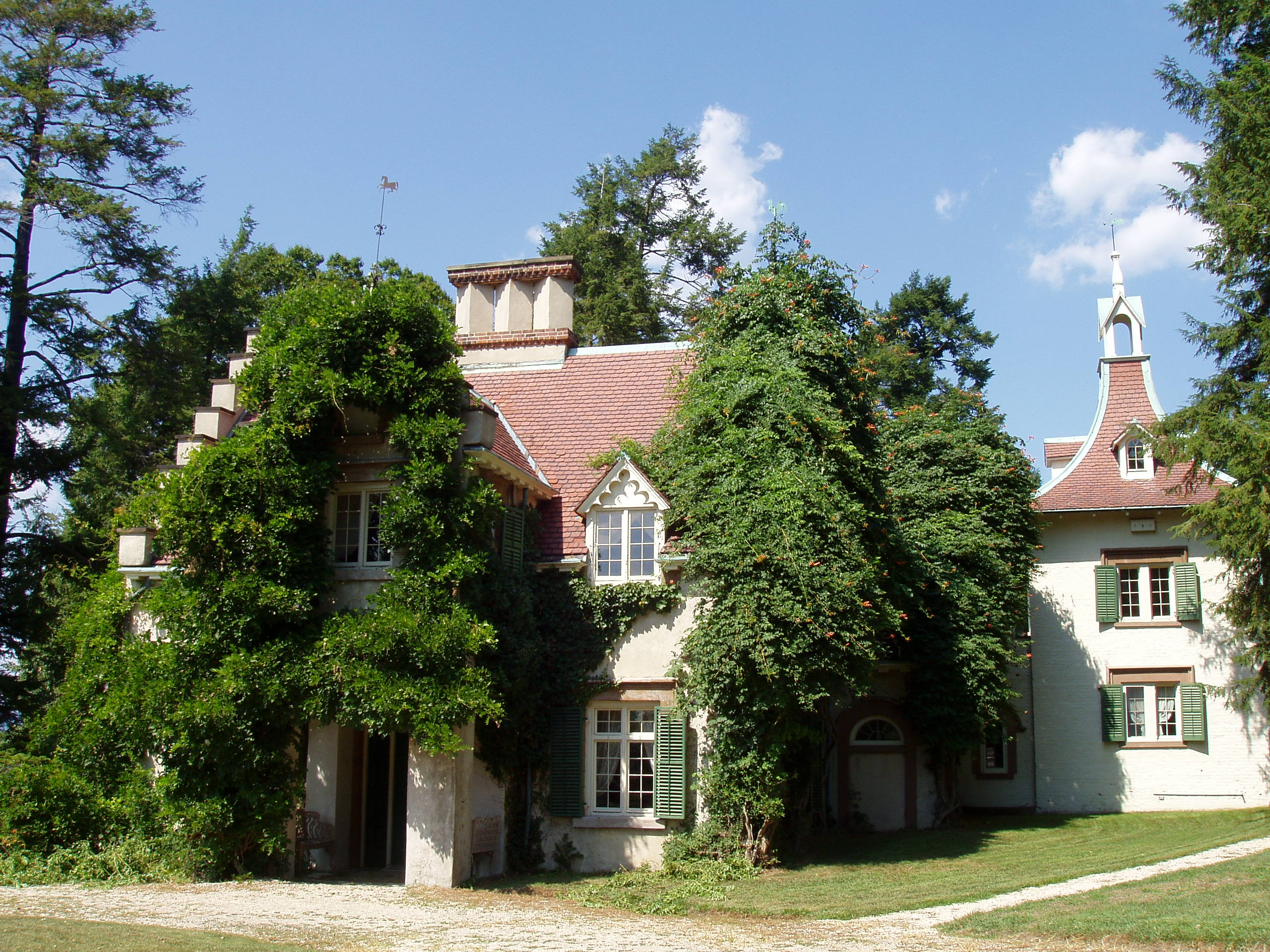 Irving's home in Tarrytown, NY