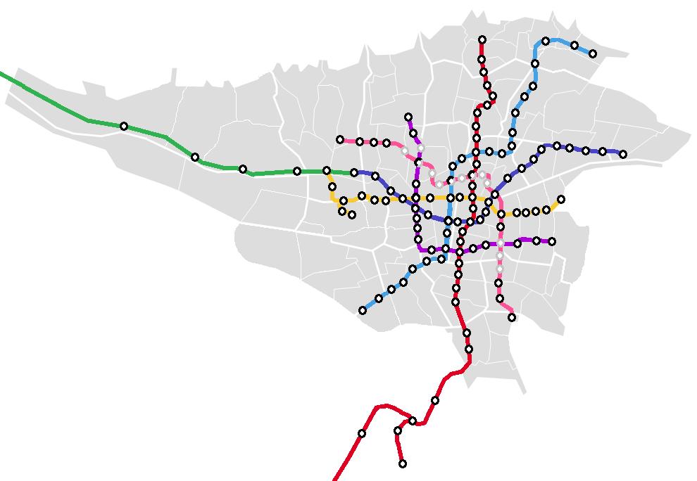 خط ۱ متروی تهران