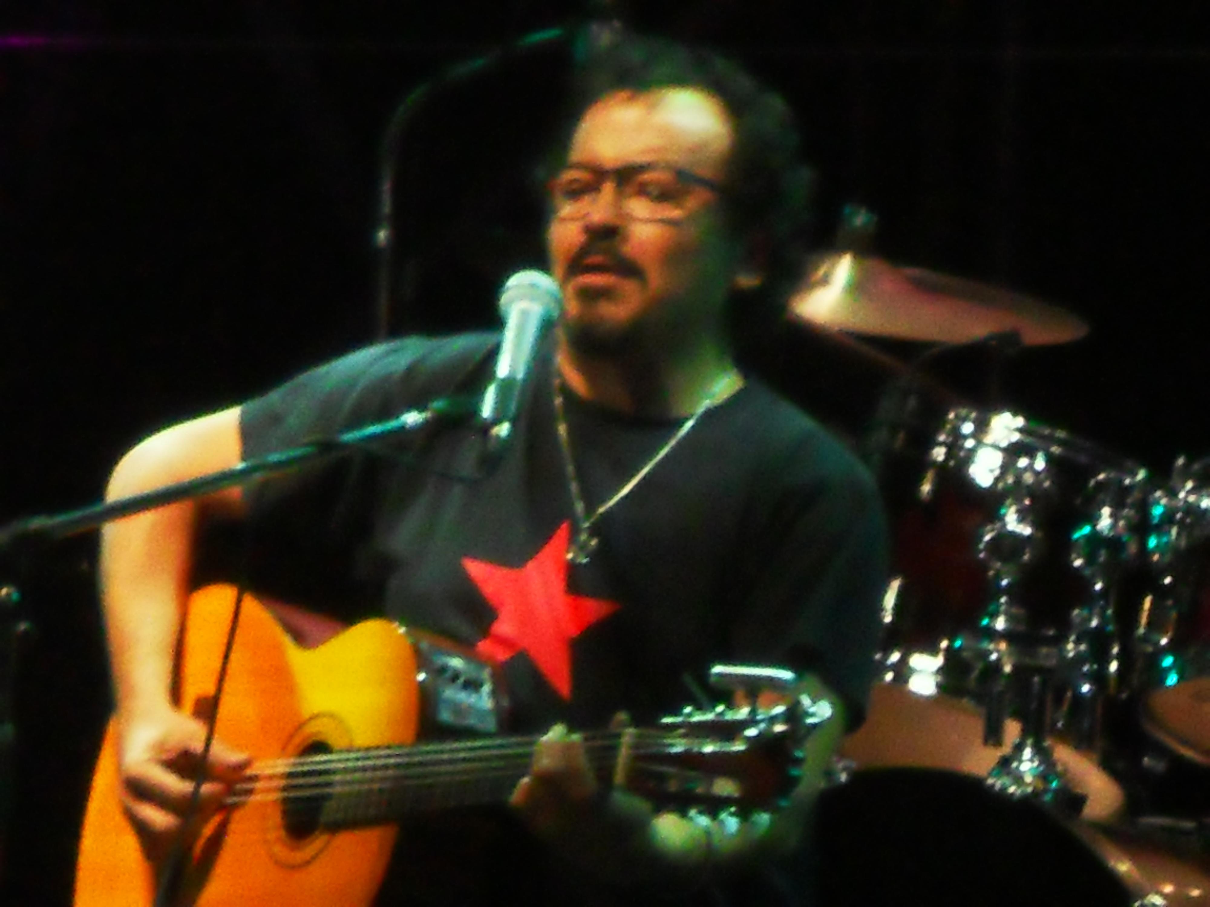 Tilín Orozco el 15 de diciembre de 2013.