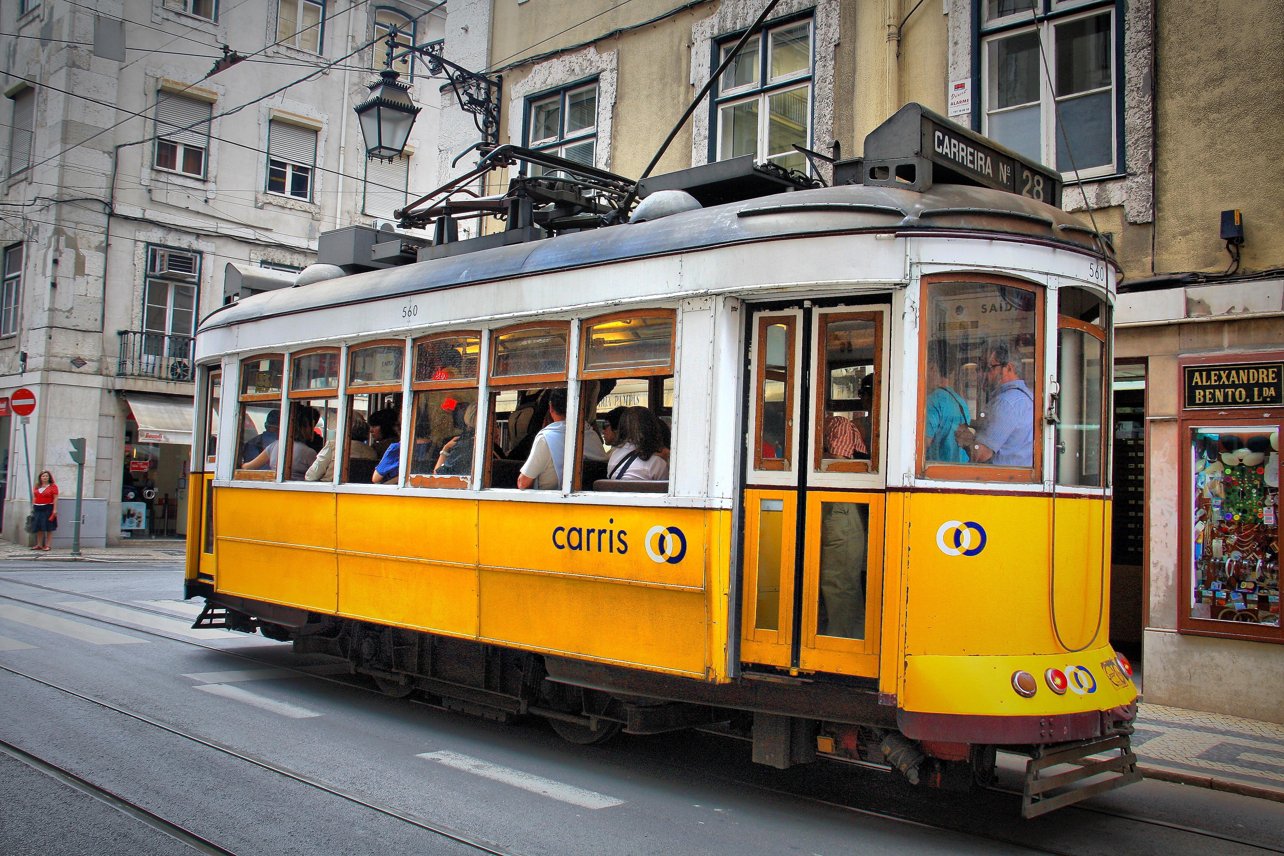 Lisbon Portugal Tram Tour