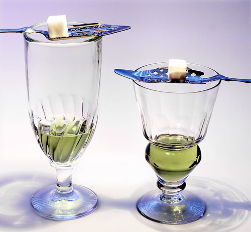 from http://commons.wikimedia.org/wiki/File:Two-absinthe-glasses.jpg