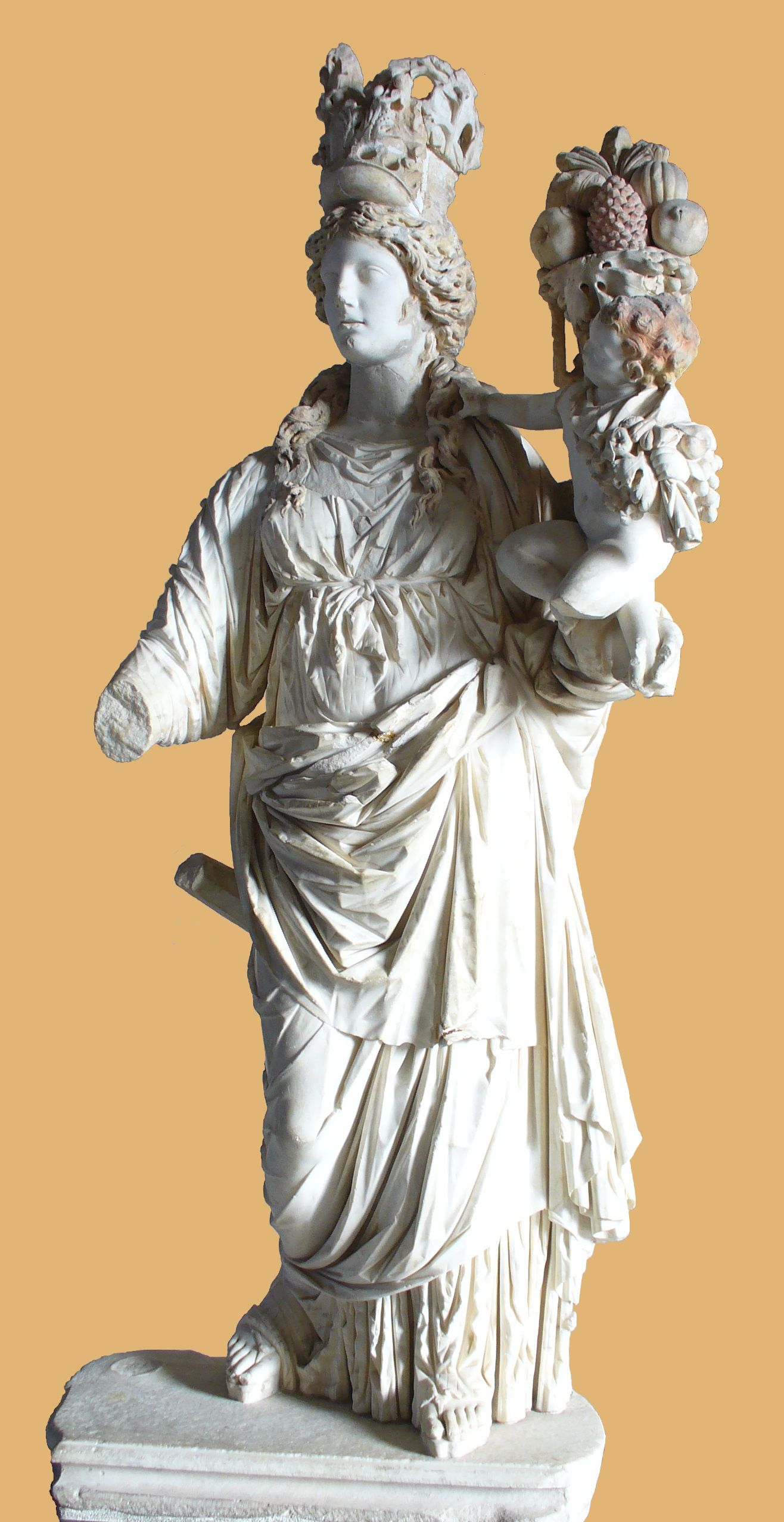 The Goddess Tyche As Lady Luck Ancient Origins
