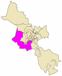 Bình Chánh District District in Ho Chi Minh City, Vietnam