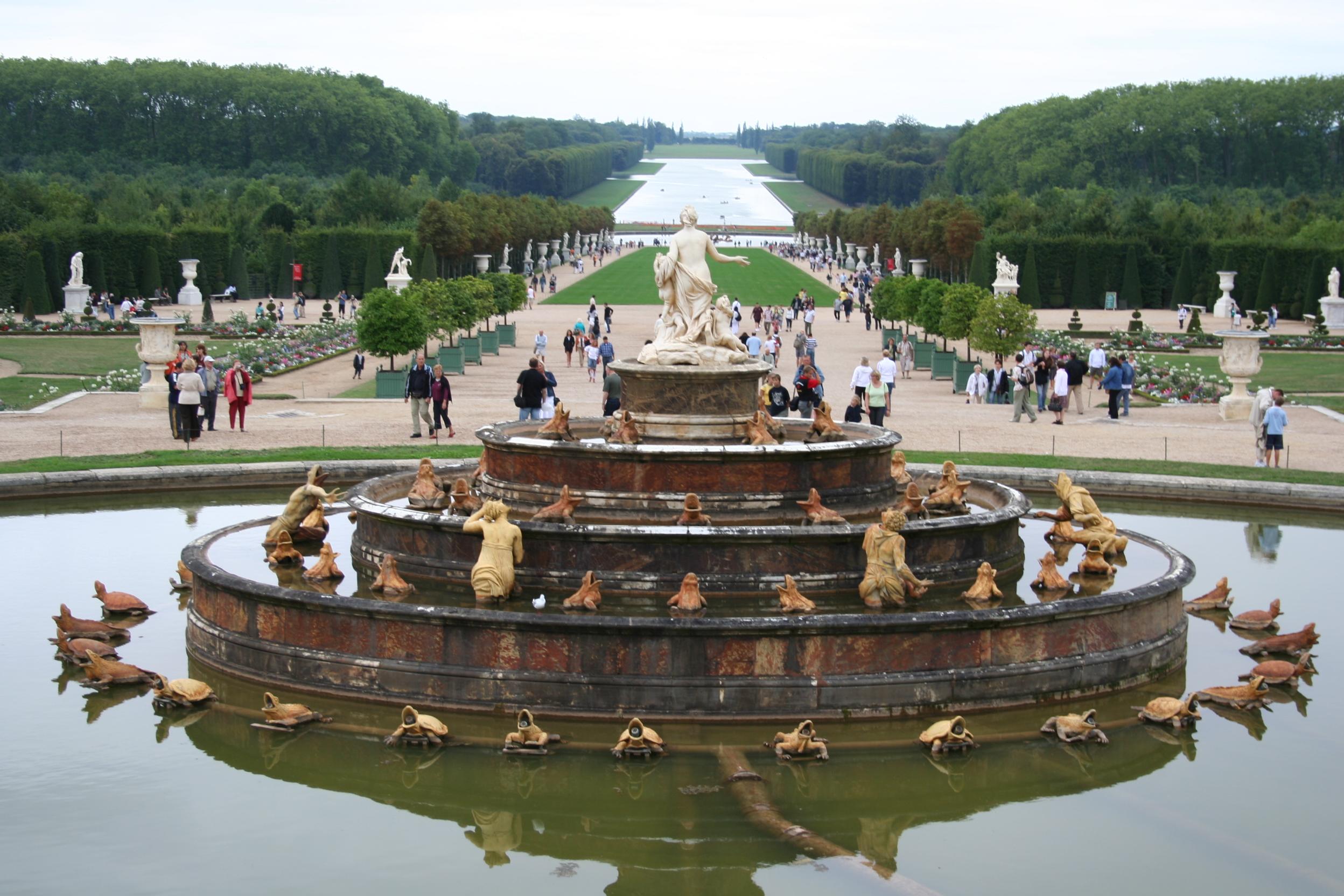 Tuinen Van Versailles.Vijvers In De Tuin Van Versailles Wikipedia