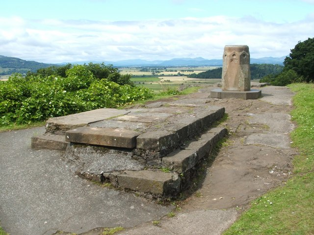 Viewpoint near the Church of the Holy Rude - geograph.org.uk - 964990