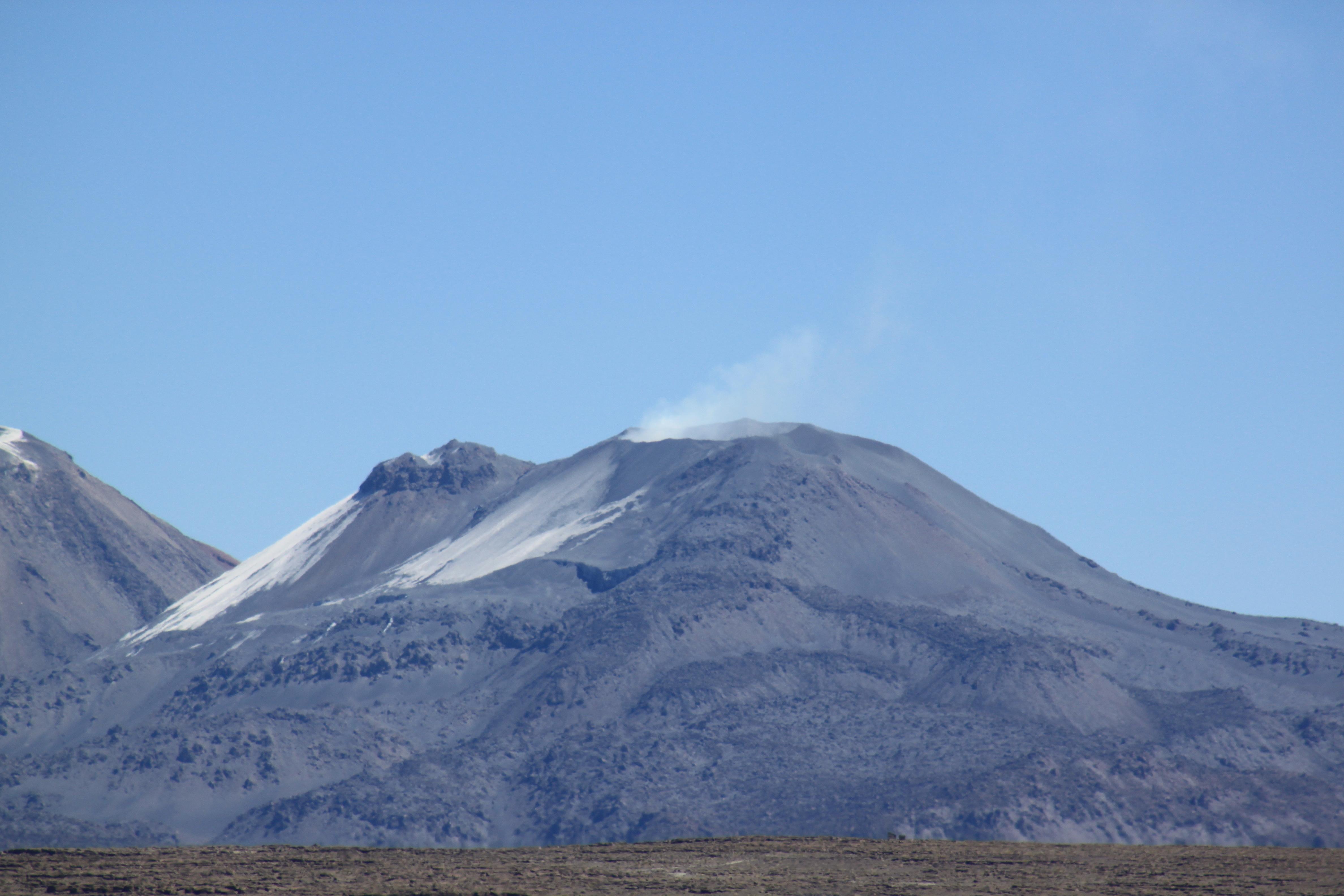 Climbing El Misti Volcano