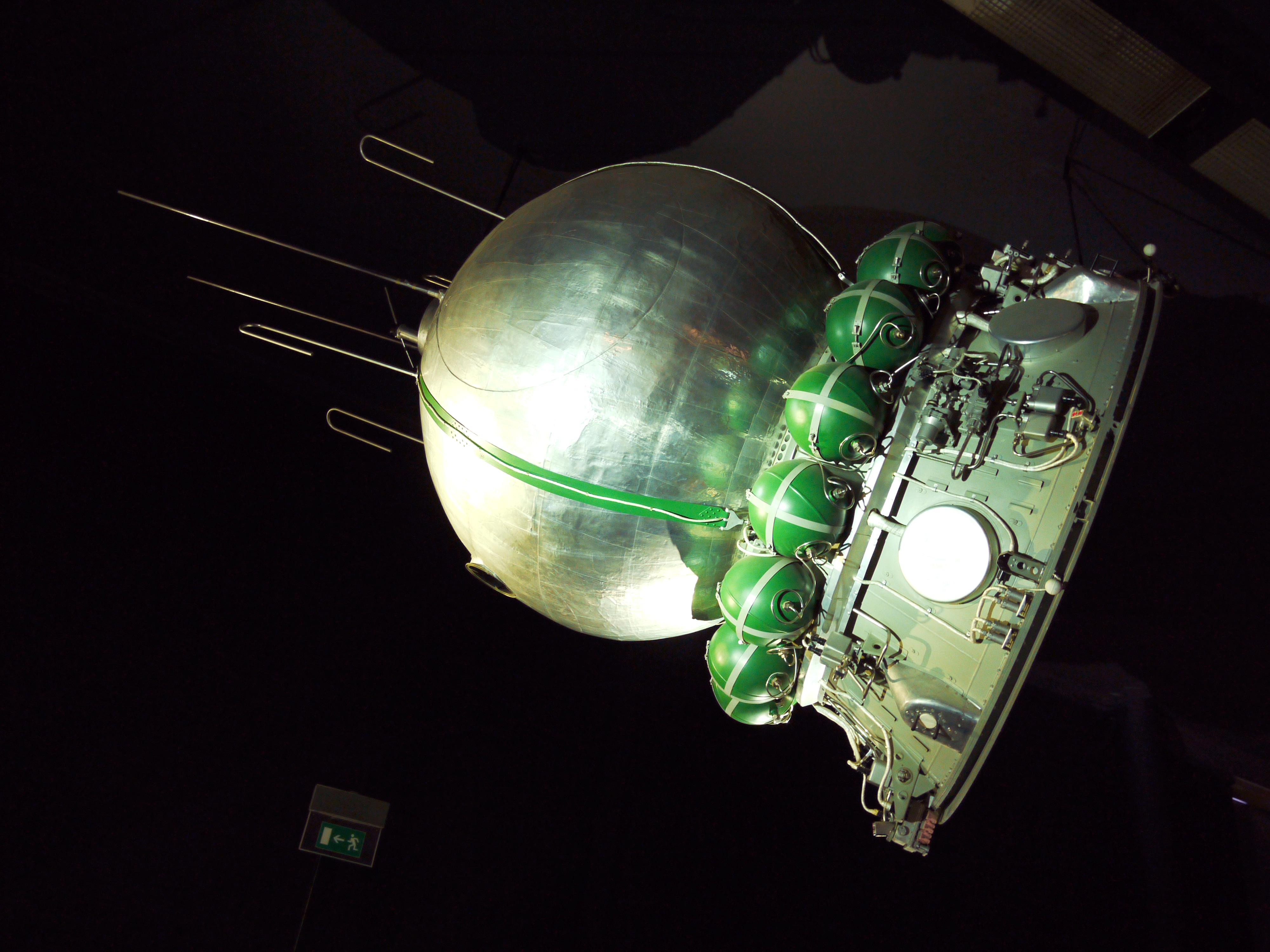 V planetáriu uvidíte repliku Gagarinovy vesmírné lodi