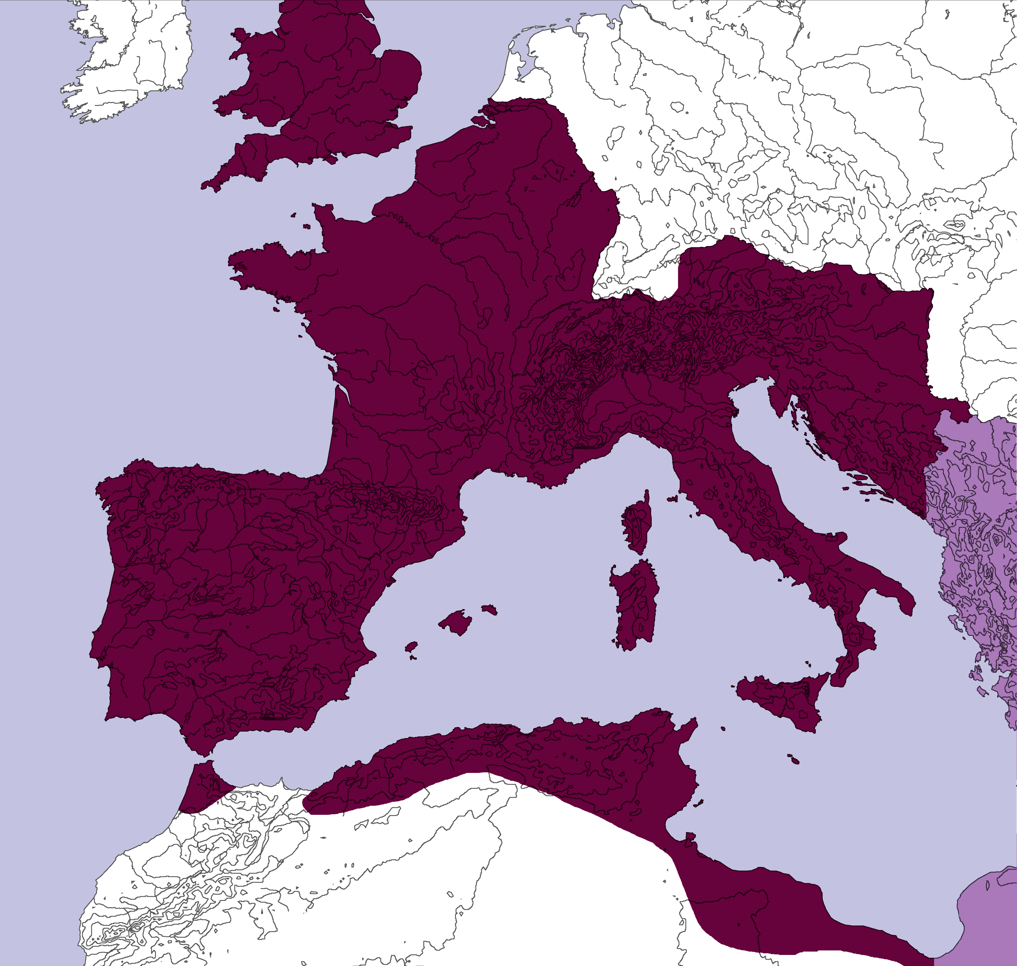 File:Western Roman Empire 3500.png   Wikimedia Commons