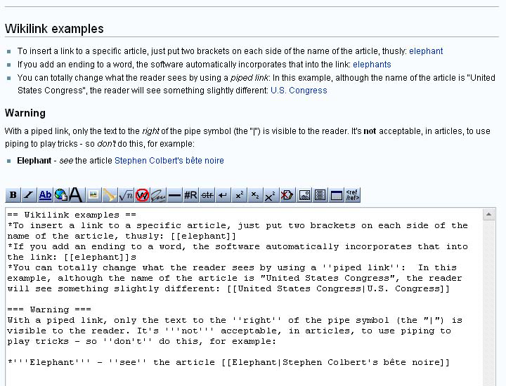 Helpwikipedia The Missing Manualediting Creating And