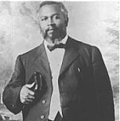 William J. Seymour, leader of the Azusa Street Revival. - Azusa Street Revival