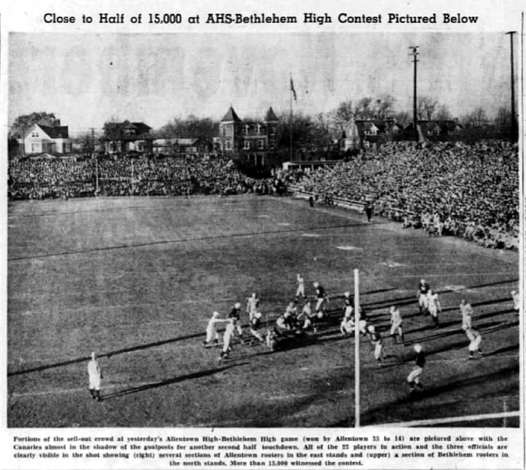 a18b3ca400f File:1946 - Coffield Stadium - 29 Nov MC - Allentown PA.jpg ...