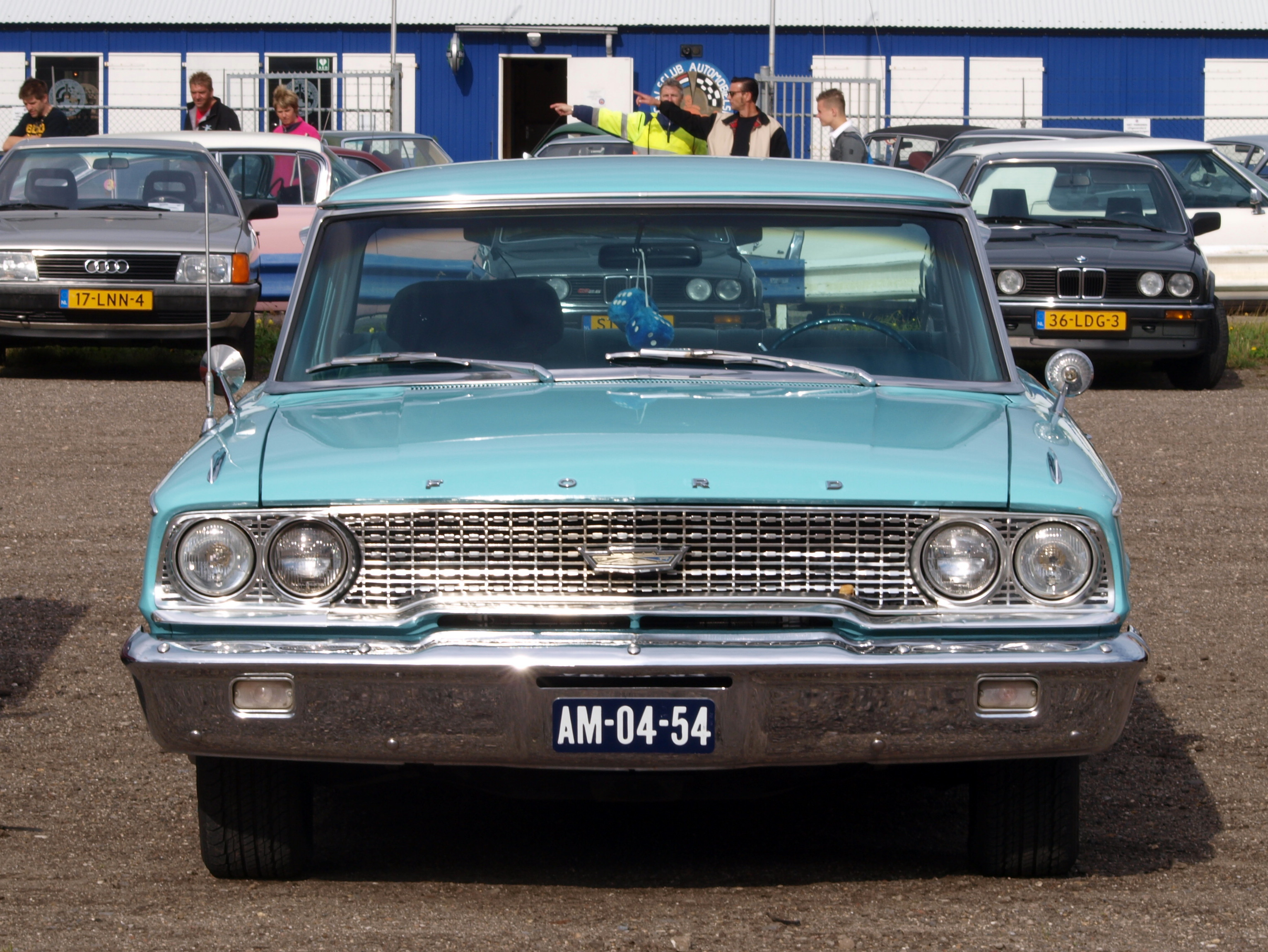 File1963 Ford Galaxie 500 front viewJPG  Wikimedia Commons