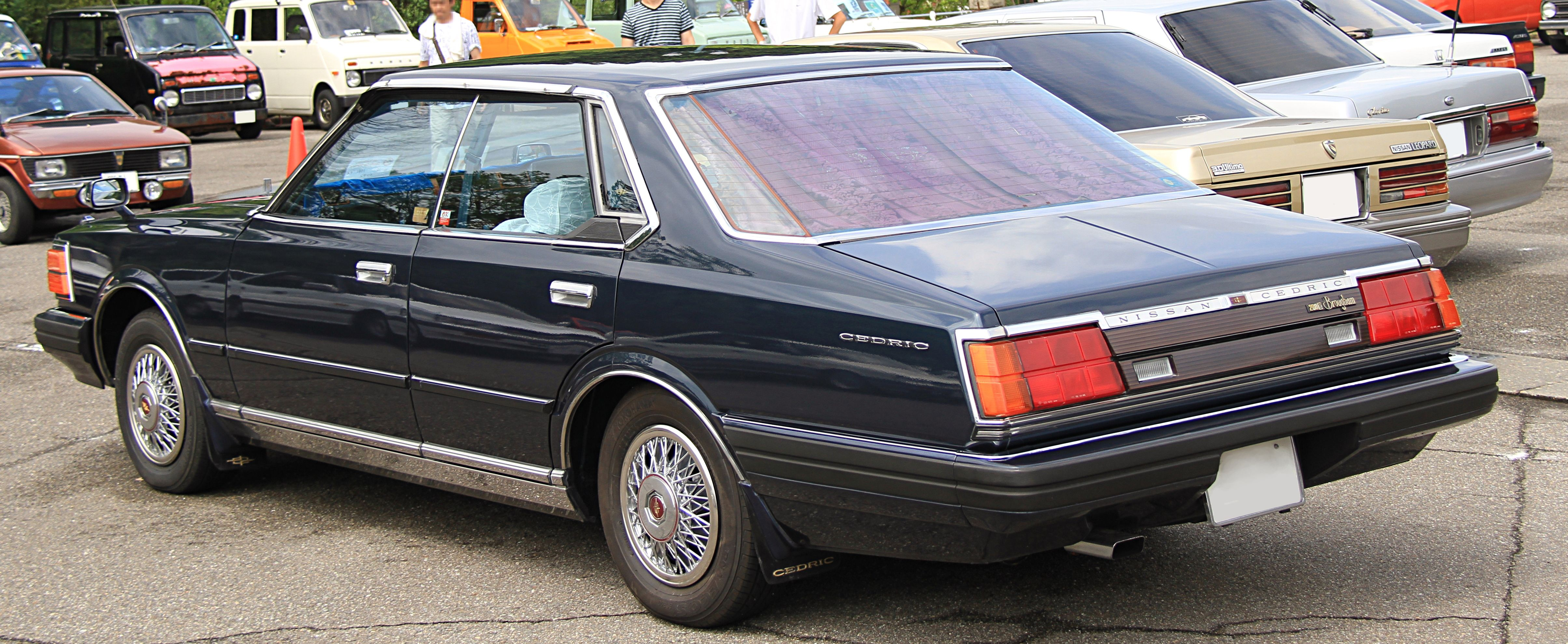 File 1981 Nissan Cedric Hardtop 2800 Brougham Jpg