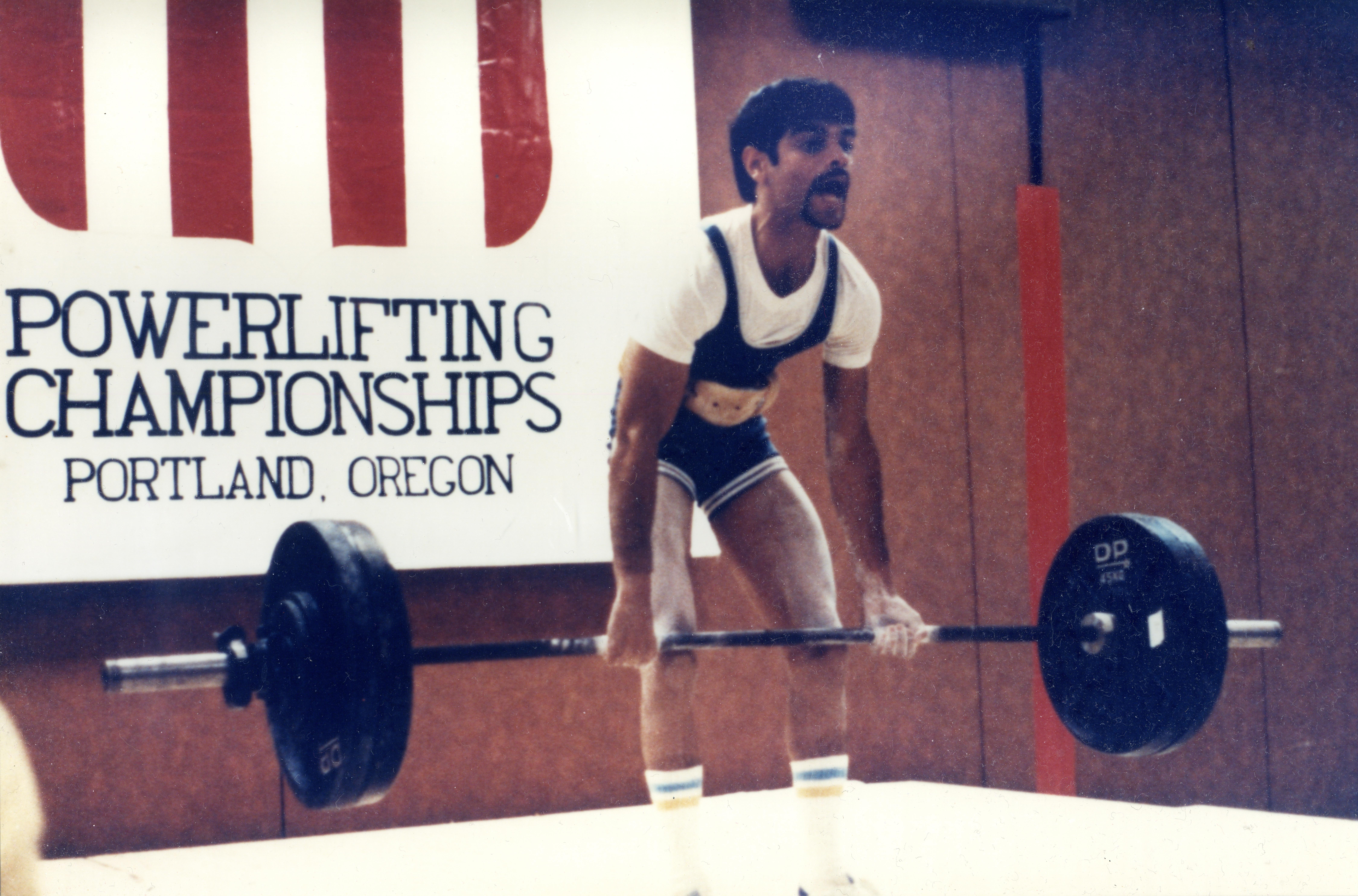 Weight Lifting Chart: 1982 US National Weightlifting Championships (IJAZ DEADLIFT ,Chart