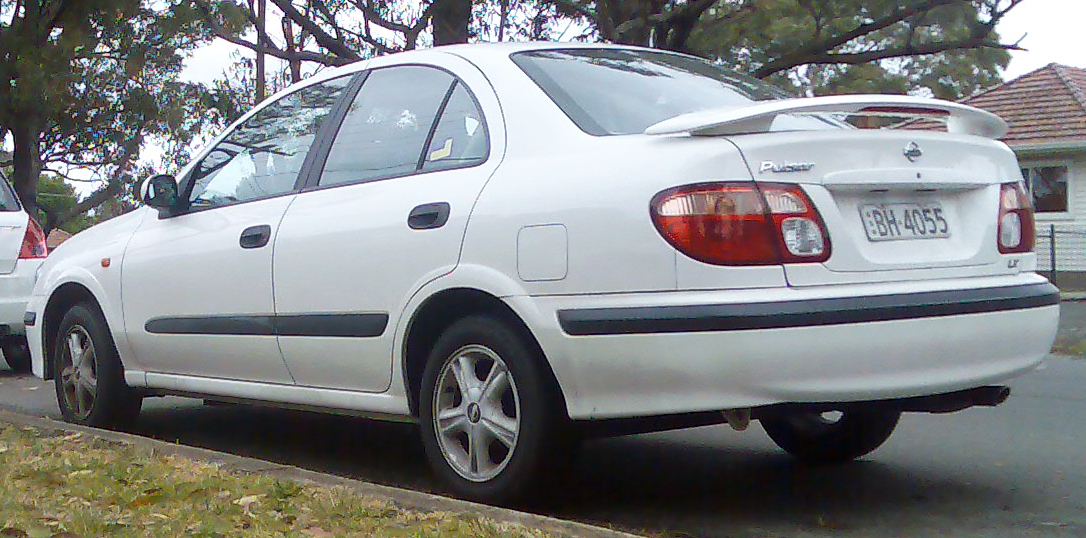 2008 Nissan Sentra Parts File:2000-2003 Nissan Pulsar (N16) LX sedan 01.jpg - Wikimedia Commons