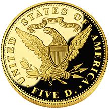 2006 San Fran Gold $5 prf rev