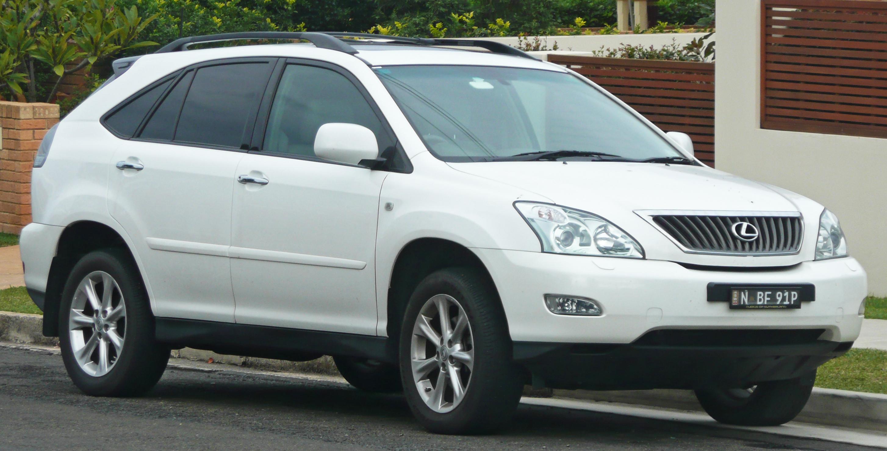 File:2007 2008 Lexus RX 350 (GSU35R) Sports Luxury Wagon 02.
