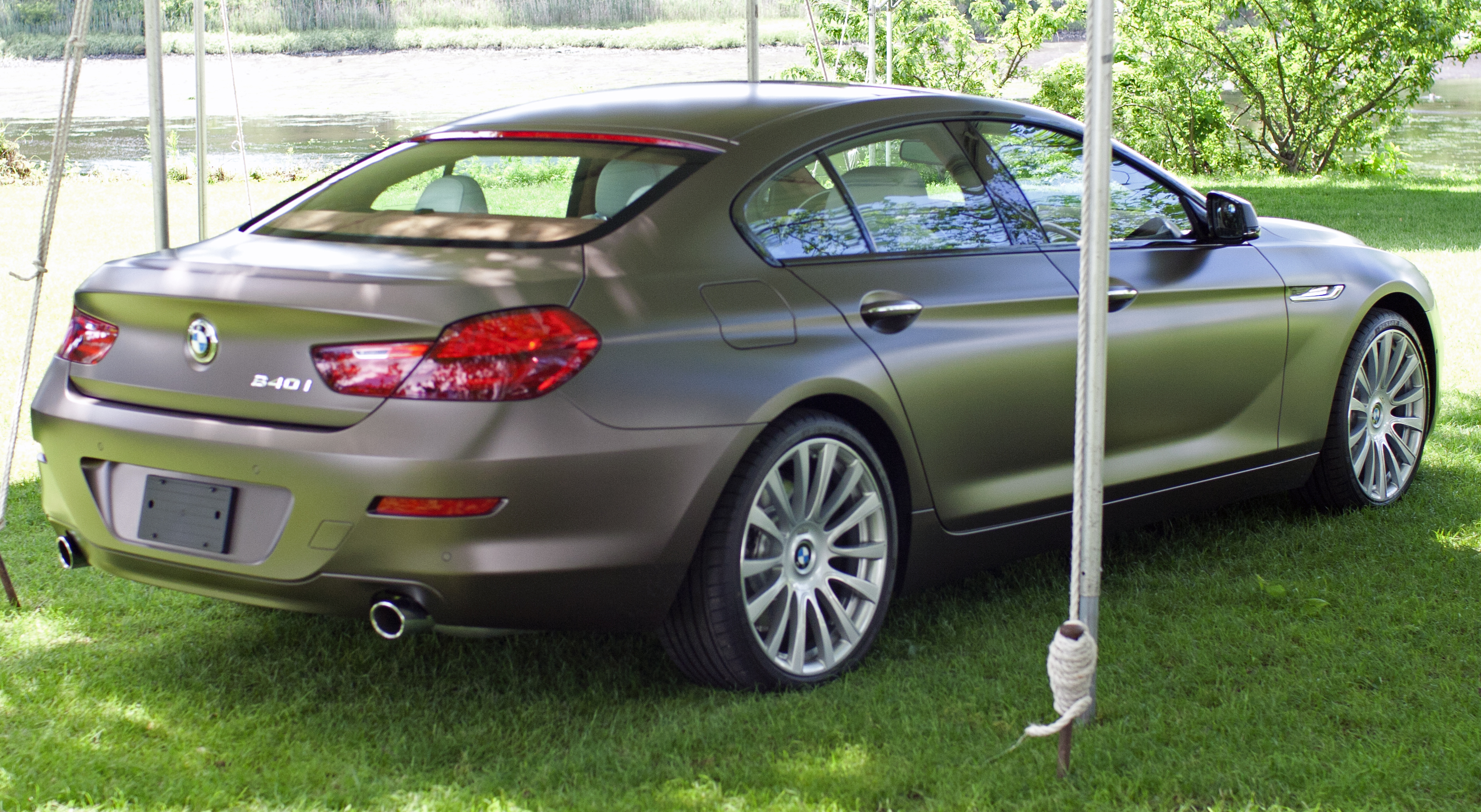 File2013 BMW 640i Gran Coupe Rear