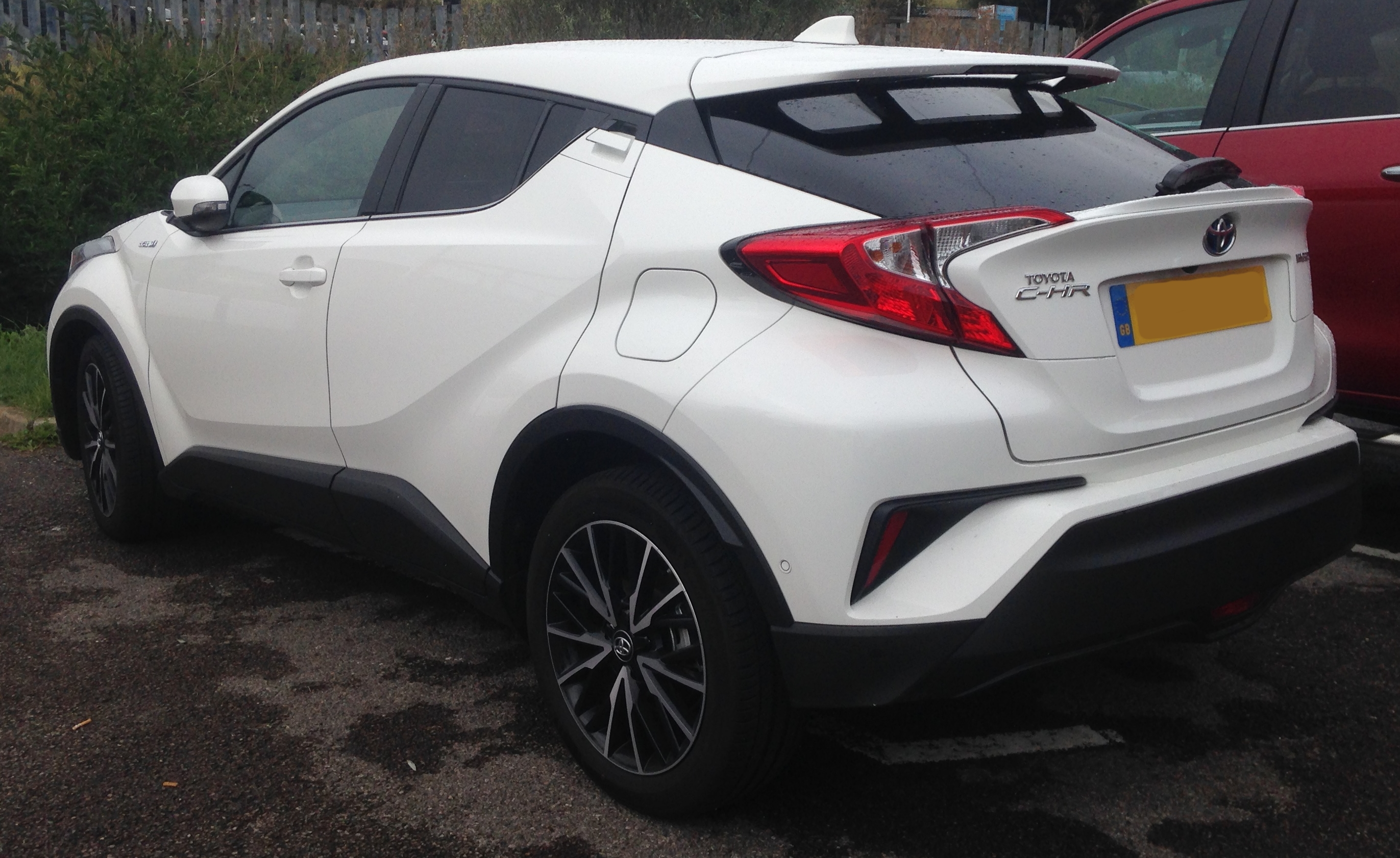 File 2017 Toyota C Hr Excel Cvt Hybrid 1 8 Rear Jpg