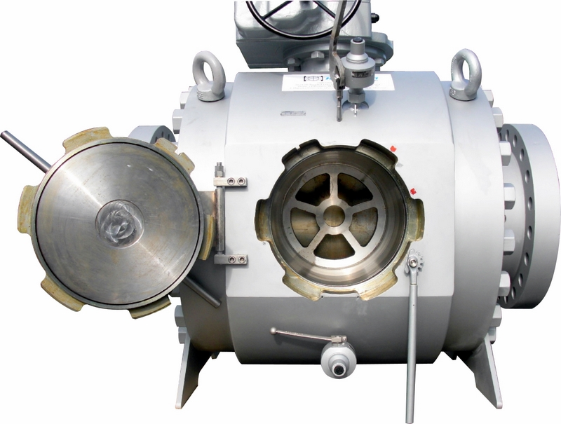 File:20 inch Molchhahn open scrapper valve pigvalve.jpg
