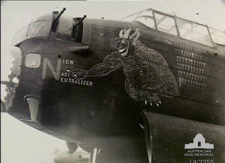 463_Squadron_RAAF_Lancaster_Nick_the_Naz