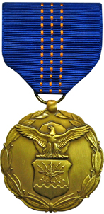 department of the air force decoration for exceptional