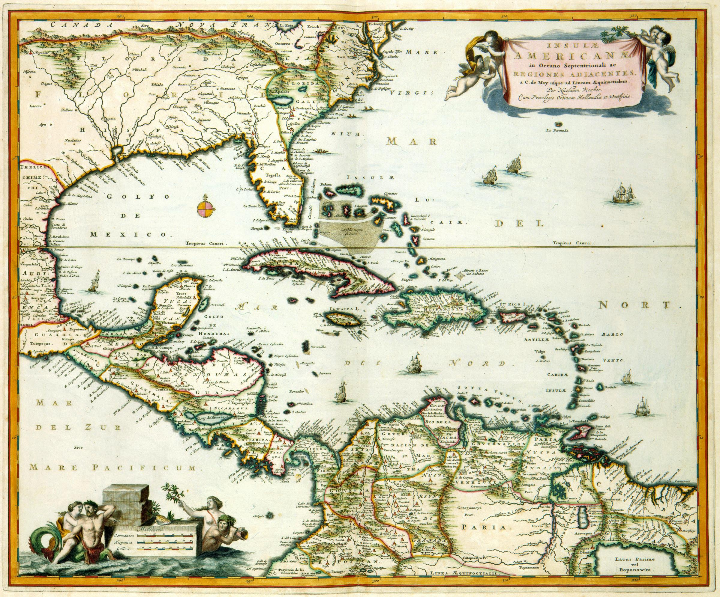 File:AMH-7755-KB Map of Central American and the Caribbean ...