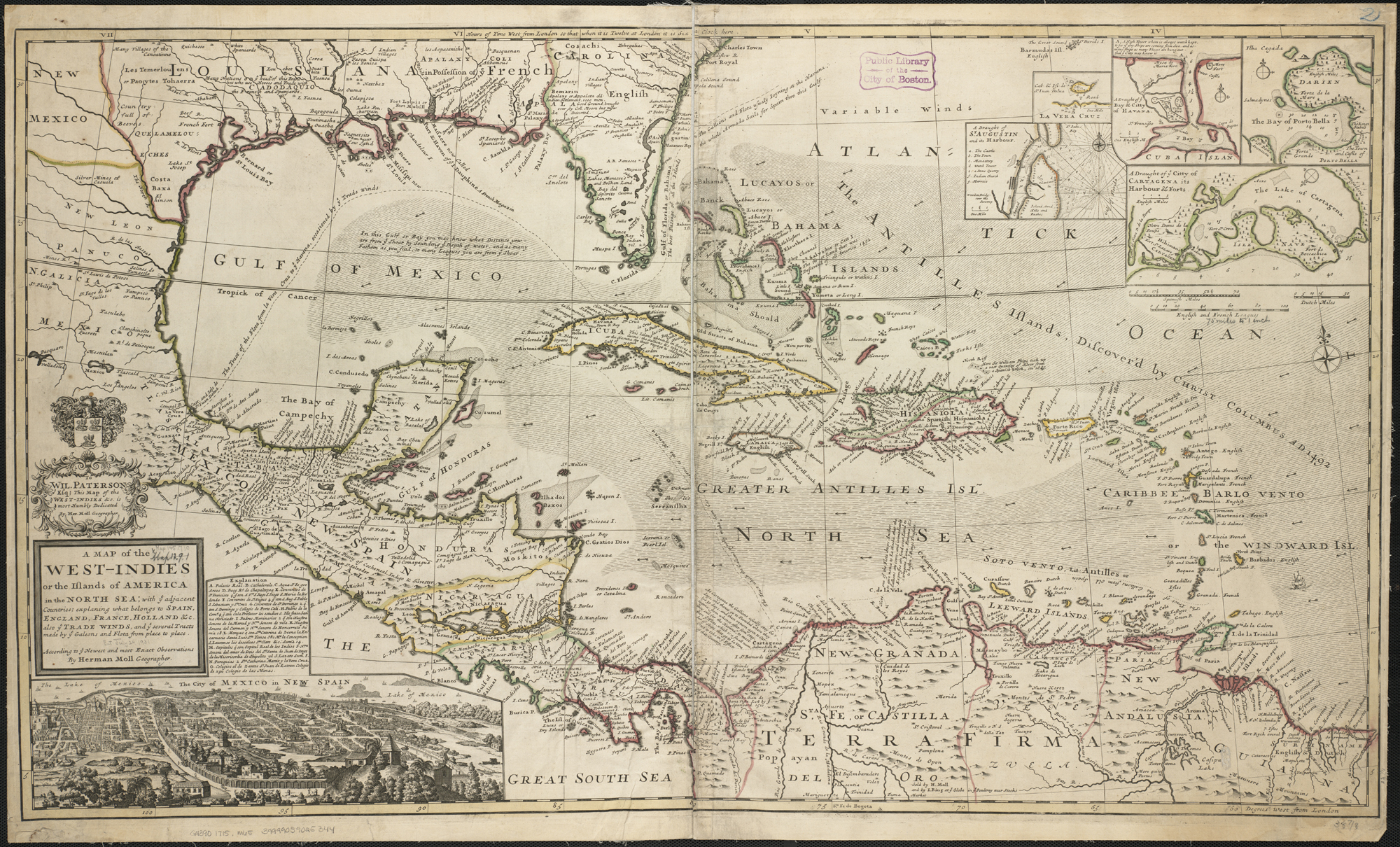 Map Of France England And Spain.File A Map Of The West Indies Or The Islands Of America In The North