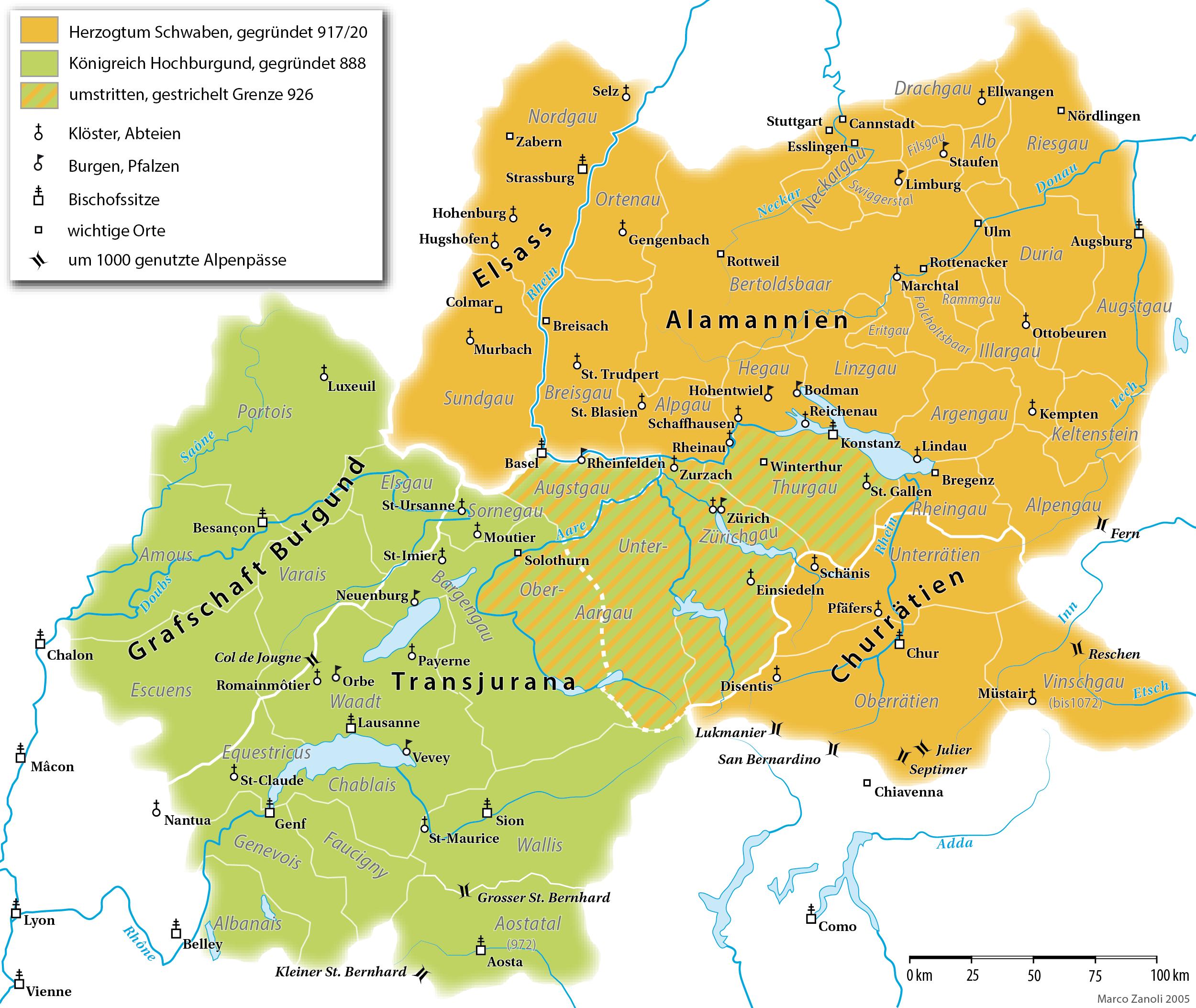 Image:Alamannien Hochburgund ca 1000