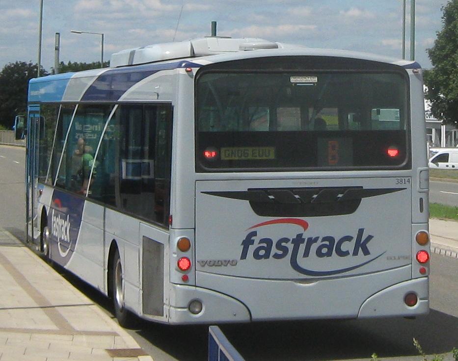 File:Arriva Kent Thameside bus 3814 (GN06 EUU) 2006 Volvo ...
