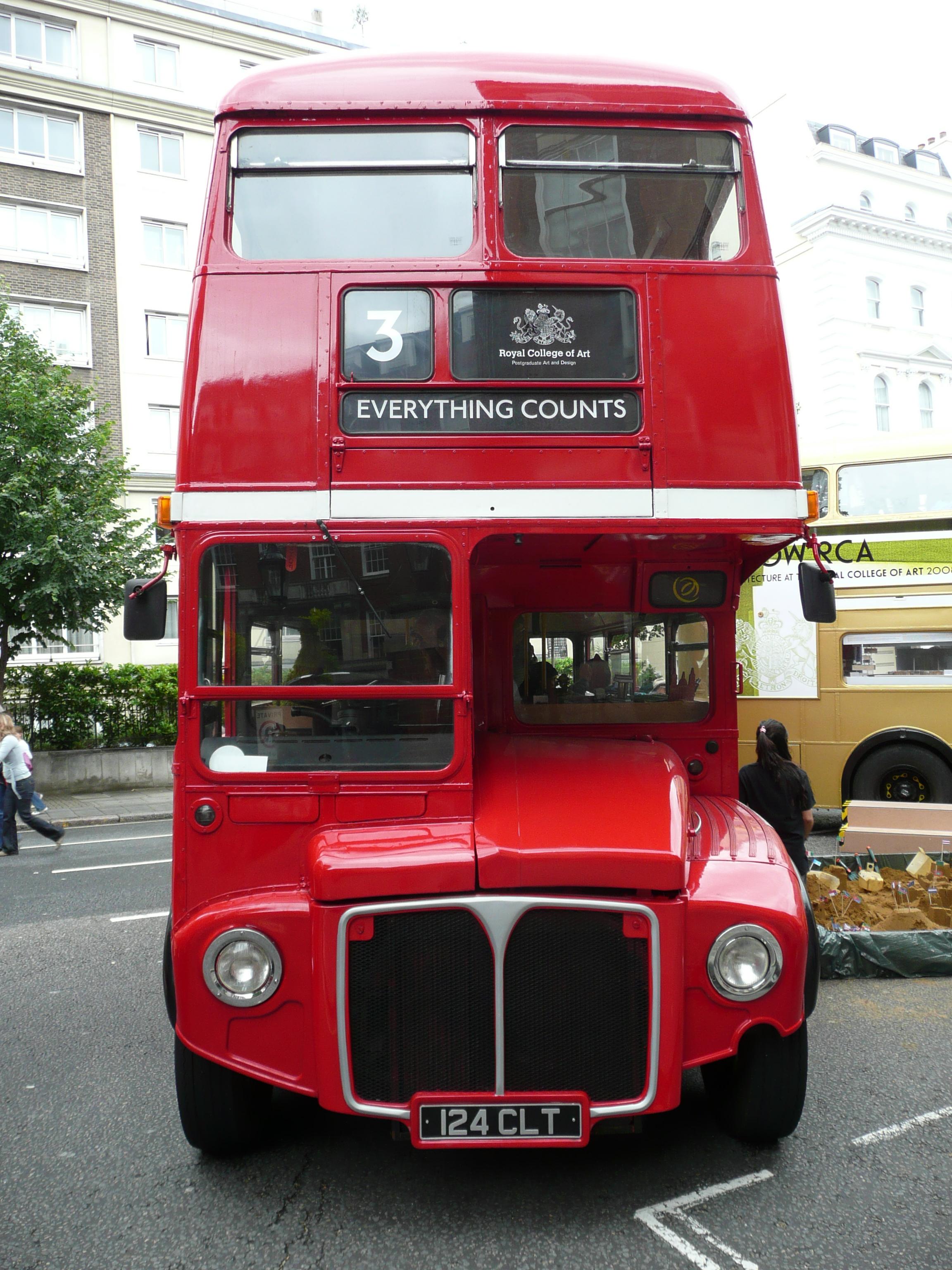 File Arriva London Routemaster Bus Rm1124 124 Clt