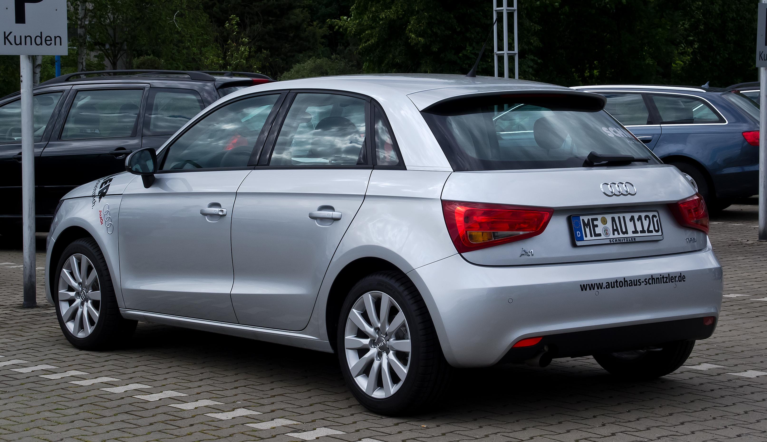 File Audi A1 Sportback 1 2 Tfsi Ambition Heckansicht 9