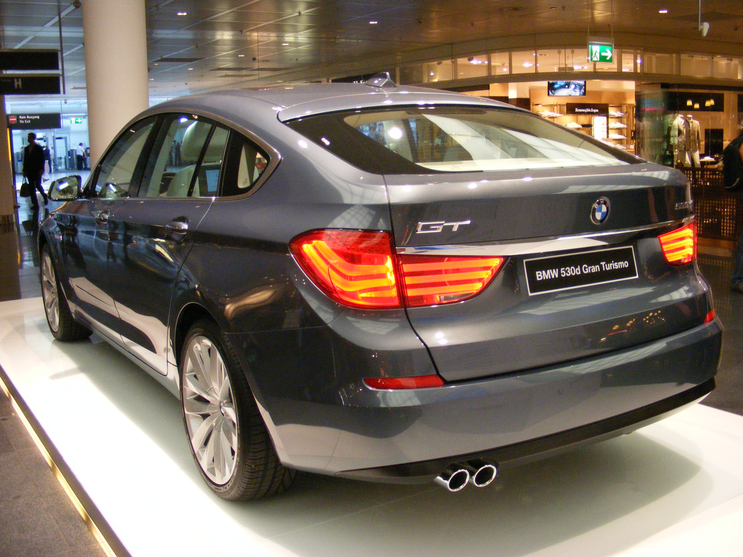 New Bmw 530d Gran Tourismo With Specification And Previews Prices