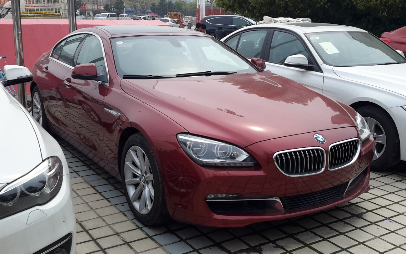 BMW bmw 6 gran coupe 2015 : File:BMW 6-Series F06 Gran Coupé China 2015-04-10.jpg - Wikimedia ...