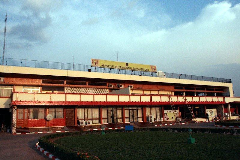 Aéroport Bangui M Poko (aéroport M'Poko international de Bangui).