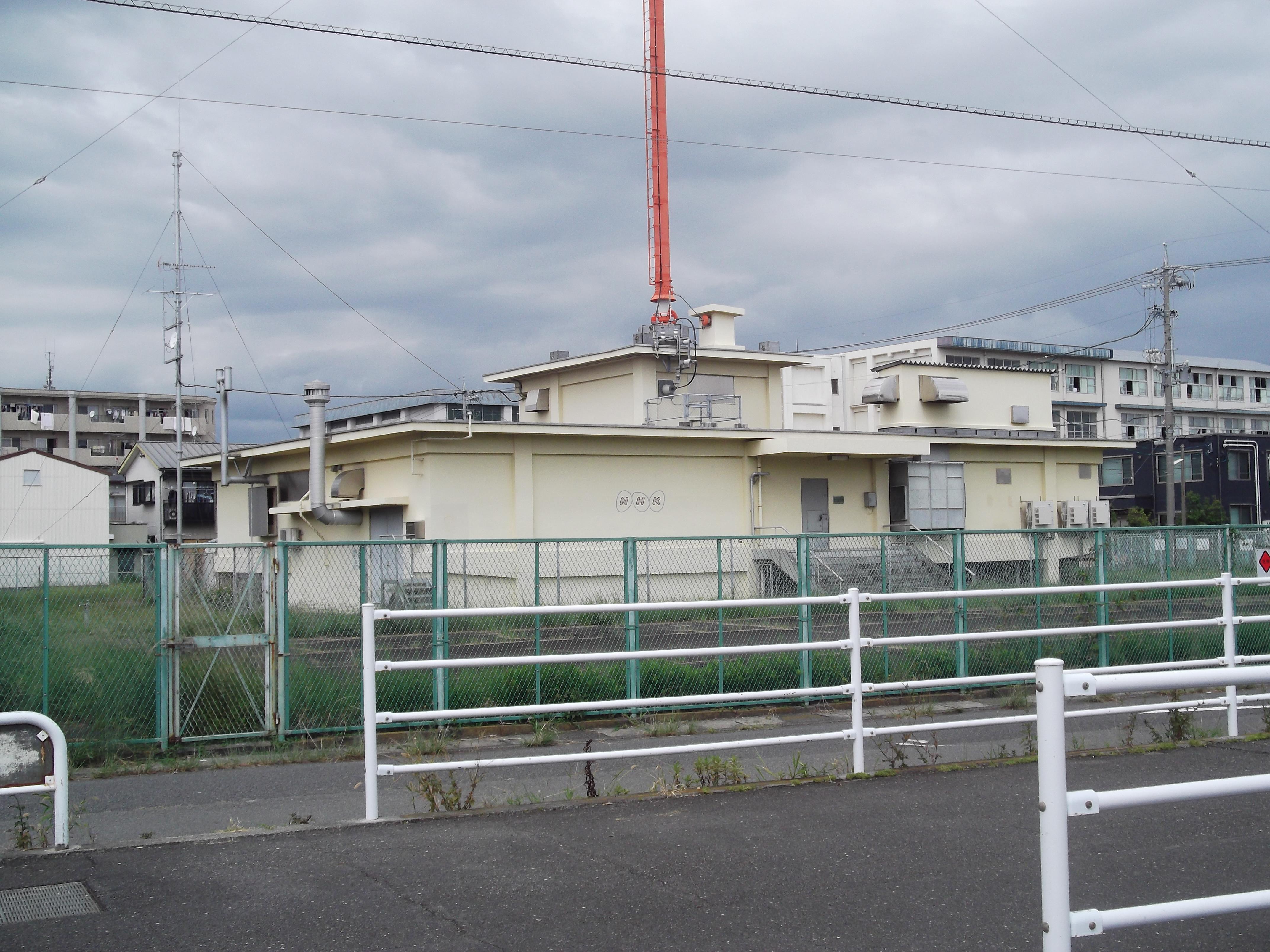 Filebase Building Of Radio Station In Miyatakesuruga Kushizuoka A City