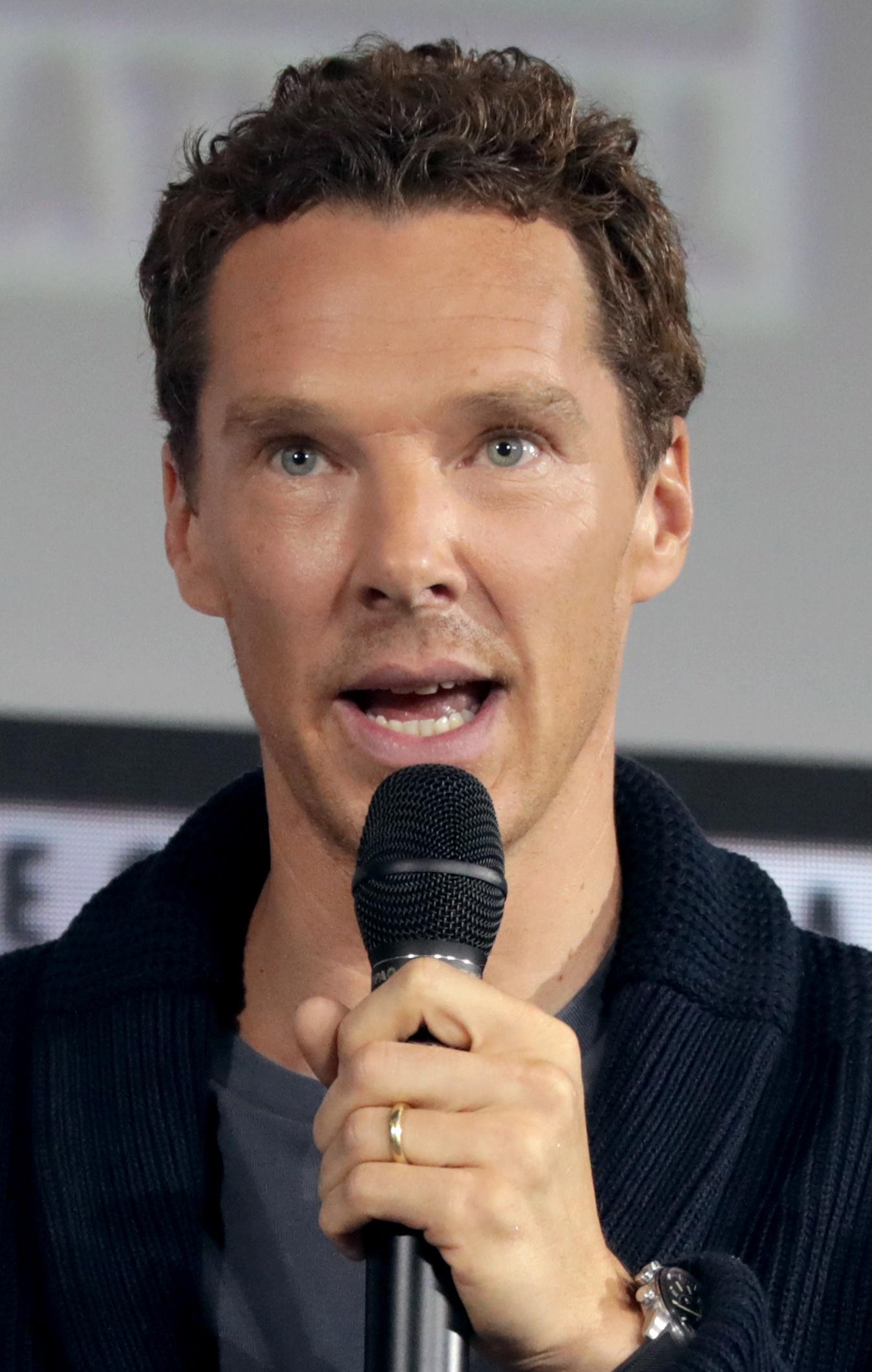 Cumberbatch in 2019