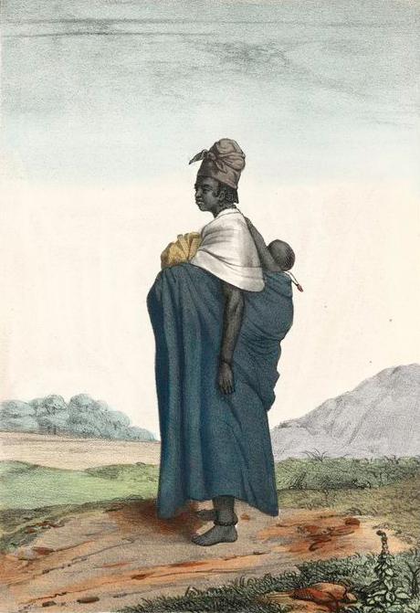 Afrikkalaiset suosivat edelleen lapsien kantamista.