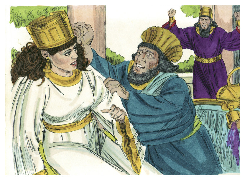 File:Book of Esther Chapter 7-4 (Bible Illustrations by Sweet Media).jpg