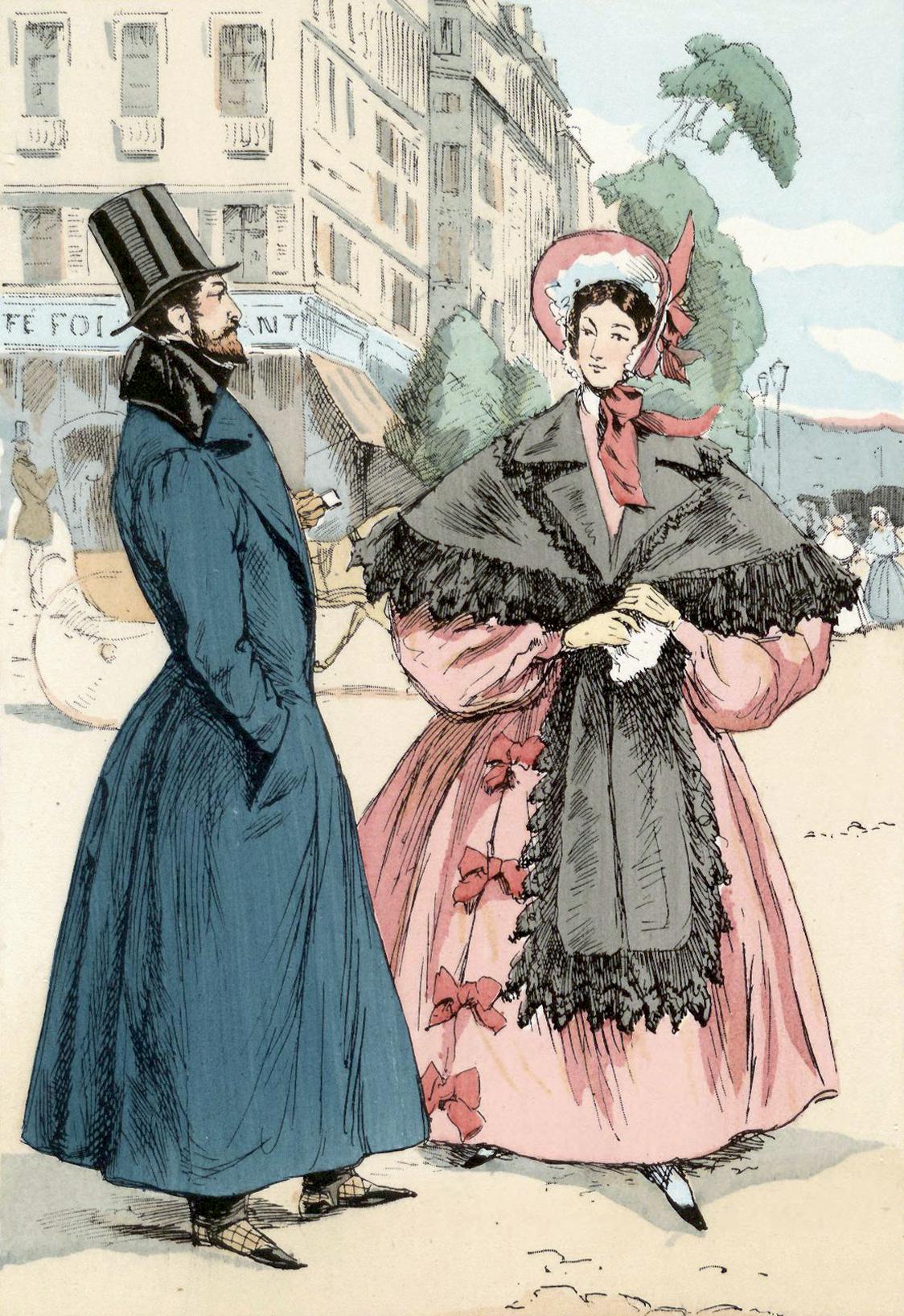 File:Boulevard des Italiens, Paris, 1833.jpg