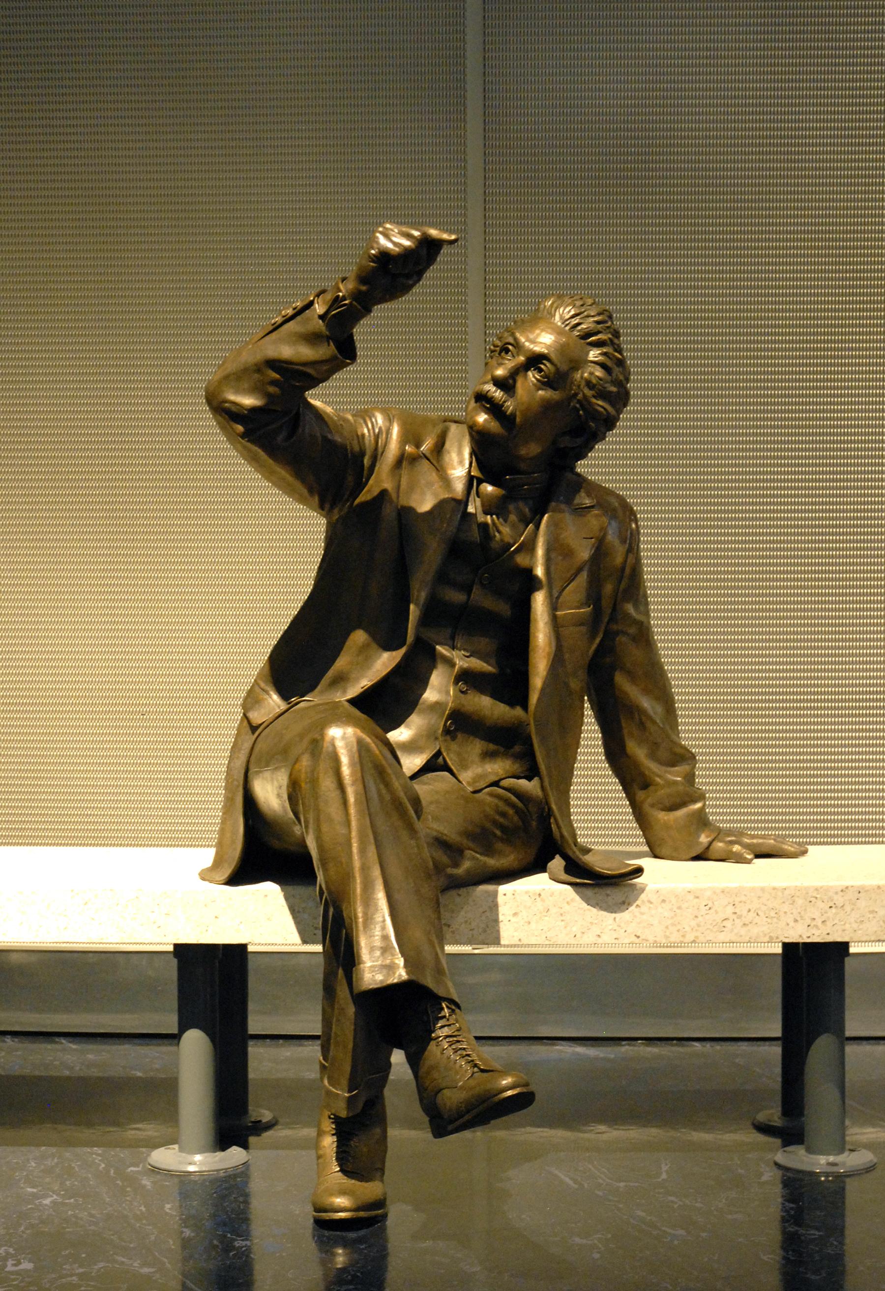 Image result for einstein statues