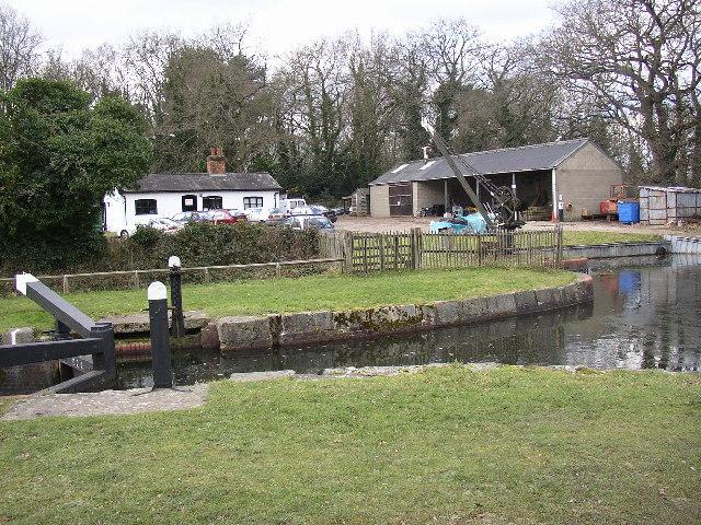 Canal Depot, Aldershot, Hampshire - geograph.org.uk - 115899