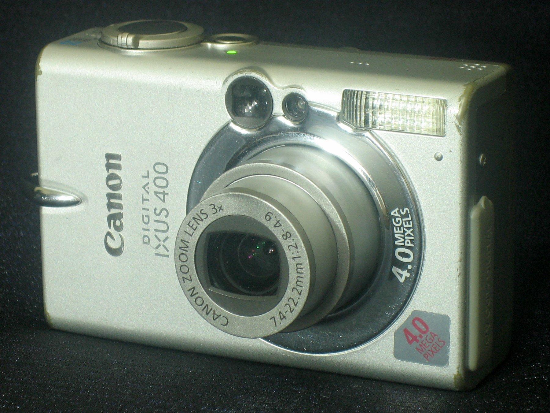 File:Canon Digital IXUS 400 front.jpg