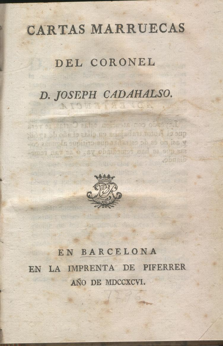 Cartas marruecas - Wikipedia, la enciclopedia libre